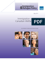 Immigration and the Canadian Welfare State 2011