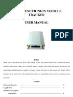 TK107 GPS Vehicle Tracker User Manual