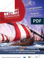 Anniv Normandie Brochure