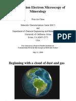 Chiou 1 Transmission Electron Microscopy of Mineralogy_070806