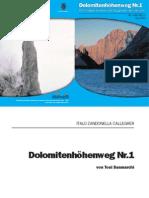 Dolomitenhöhenweg Nr.1