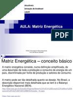 Aula 01 Matriz Energética