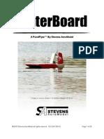 WaterBoard - Manual - 2[1][1].0 08282010