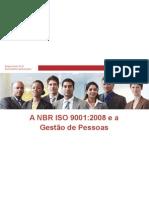 A NBR ISO 9001.2008 e a Gestão de Pessoas