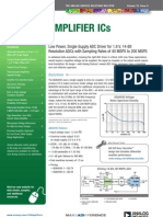 Amplifier ICs Bulletin