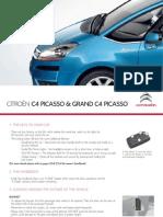 Citroen C4 Grand Picasso Quick Start Guide