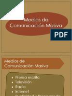 Medios de Comunicación Masiva