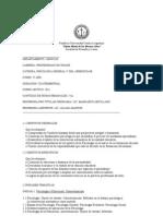 Programa Ps. Gral y Del Aprend. 2011