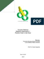 Relatório_Exp1_Resistor linear e não-linear_Circuitos Elétricos E Fotônica_Trim2.3