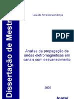 2002 Analise da propagação de ondas eletromagnéticas em canais com desvanescimento