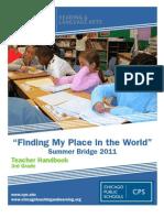 3rd Grade Teacher Handbook ORLA