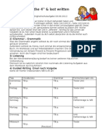 Studyplan 4th written test