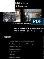 Center City Bicycle Network Pilot Projects Final 1
