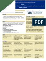 SHLI Strategic Profile 9-13-10