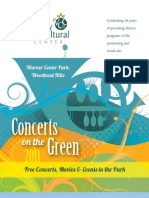 Valley Cultural Center - Concerts on the Green 2011 Program