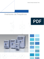WEG Cfw 08 Inversor de Frequencia Catalogo Portugues Br
