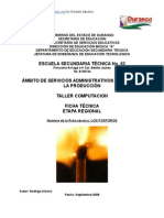 Análisis de Objeto Técnico El Fósforo