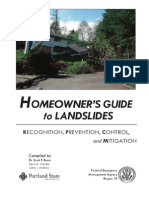 Homeowners Landslide Guide