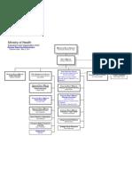 Health ministry organization chart