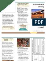 SPL Foundation Brochure B