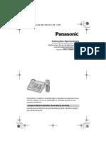 Manual do usuário KX-TG6075LB