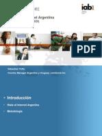 Estado de internet en Argentina  COMSCORE