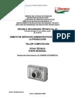 Análisis de Objeto Técnico La Cámara Fotográfica