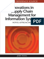 Innovations in Supply Chain Management for Information Systems (October 2009)