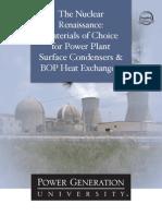 Mat Condenser 5-PGU NuclearRenMaterials