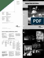 Catalogue Ball Valves-Dimension API 6D