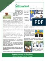 BOLETIN 36 - INFORME DE SUECIA - AGOSTO 2 2008