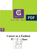 Career in Fashion Merchandising