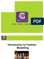 Introduction to Fashion Modelling