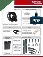 Audio Quest Accessories