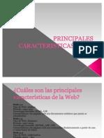 Principales Caracteristicas de La Web Mariela