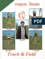 84 Oregon State Track Field Media Guide