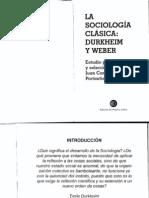 C. Portantiero - La sociología clásica Durkheim y Weber