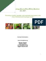 CCCFPC Action Plan 2009