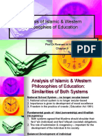 3. Analysis of Islamic & Western Philosophies of Education-Chapter 9- Week4 & 5