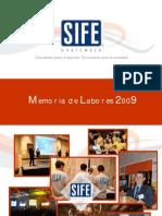 Memoria de Labores SIFE 2009