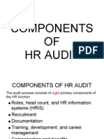 Components of Hr Audit