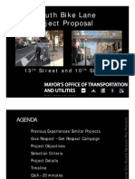 Center City Bicycle Network Pilot Projects WEB Sm