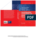 Geocomputation Sustainability and Environmental Planning