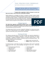 International Strategy Cyberspace Factsheet