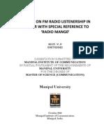 FM Radio Listener Ship in Trichur