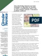 Aranhas Em Hortas Agroecologica Em Parnaiba[1]