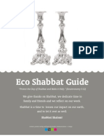 Eco Shabbat Guide