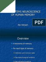 Cbu Human Memory