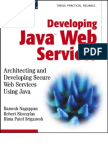 Developing Java Web Services - IsBN 0471236403