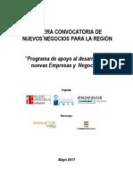 Primera Convocatoria Para Nuevos Empresas y Negocios Region Ales 2011